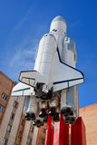 Raumschiff Buran lizenzfreies stockbild