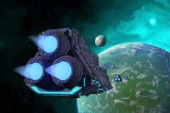 Raumschiffe Lizenzfreies Stockbild
