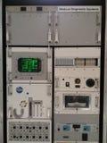 Raumschiffs-Replik oder medizinische Diagnostiksysteme stockfotografie