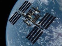 Raumstation lizenzfreie abbildung