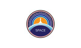 Raumvektorbild stock abbildung