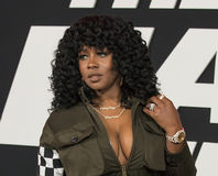 Raunchy Rapper Remy Ma Royalty Free Stock Photos