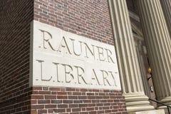 Rauner图书馆达特茅斯学院 库存图片