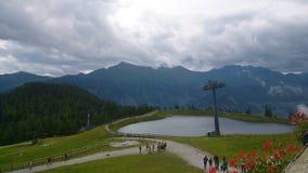 Rauris Österrike Royaltyfri Fotografi