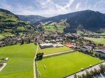 Rauris in Austria, mountain village in the Alps, Salzburg Royalty Free Stock Photo