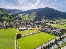 Rauris in Austria, mountain village in the Alps, Salzburg Stock Photo