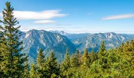 Rauschberg-Ansicht Stockbild