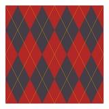 Raute - geometrisches Design für Gewebe lizenzfreies stockbild