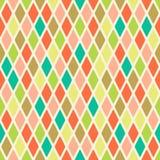 Raute-nahtloses Muster Stockbilder