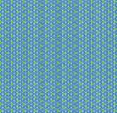 Rautengrün-Dreieckgeometrie des Musters blaue Stockbild