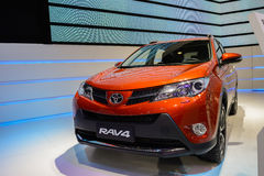 RAV4 from Toyota,2014 CDMS Royalty Free Stock Photo
