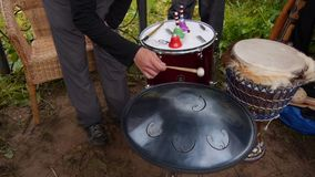 RAV Vast. Musical percussion instrument.The analogue of the musical instrument hang.File contains sound
