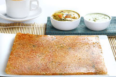 Rava dosa Royalty Free Stock Photos