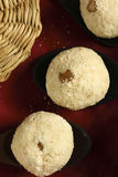 Rava ladoo - An Indian sweet dish Royalty Free Stock Photos