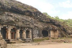 Ravan-ki Khai, Höhle 14, Ellora Caves, Indien Lizenzfreies Stockbild