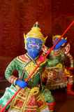 Ravana του Ramayana Στοκ Εικόνα