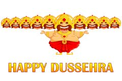 Ravana in Dussehra Stock Photo