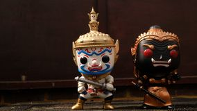 Ravana and giantess Stand prominent. Suitable for making background images stock images