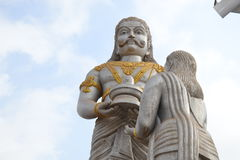 Ravana på Shiva Statue - Murudeshwar Royaltyfri Bild