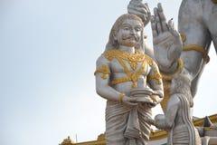 Ravana på Shiva Statue - Murudeshwar Arkivbilder