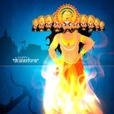 Ravana statue for Happy Dussehra celebration. Stock Photography