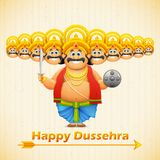 Ravana with ten heads for Dussehra Stock Photo