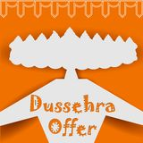 Ravana with ten heads for Dussehra Stock Images