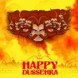 Ravana with ten heads for Dussehra Stock Image