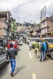 Ravangla, paisaje urbano foto de archivo libre de regalías