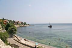 Ravda, costa búlgara Fotos de Stock Royalty Free
