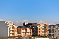 Ravda. Houses In The Town Of Nessebar, District Ravda, Bulgaria royalty free stock images