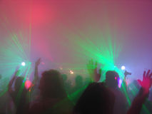 rave партии Стоковые Изображения RF