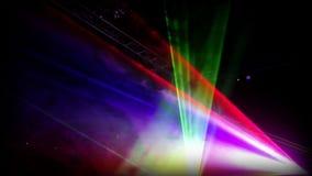 Rave light show