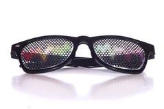 Rave music fancy dress glasses Stock Photography