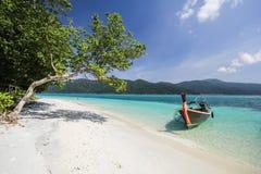 Ravee island, Koh Ravee, Satun province Thailand Royalty Free Stock Images