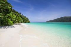 Ravee island, Koh Ravee, Satun province Thailand Stock Photos