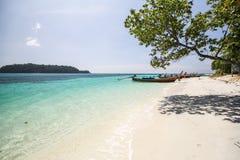 Ravee wyspa, Koh Ravee, Satun prowincja Tajlandia Obrazy Stock