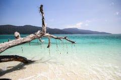 Ravee wyspa, Koh Ravee, Satun prowincja Tajlandia Zdjęcie Stock
