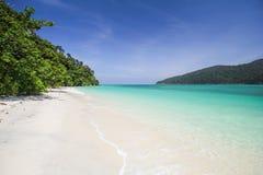 Ravee wyspa, Koh Ravee, Satun prowincja Tajlandia Fotografia Royalty Free