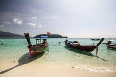 Ravee wyspa, Koh Ravee, Satun prowincja Tajlandia Zdjęcia Royalty Free