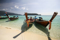 Ravee wyspa, Koh Ravee, Satun prowincja Tajlandia Obrazy Royalty Free