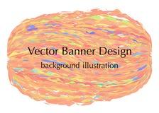 Ravel knit banner Stock Photography