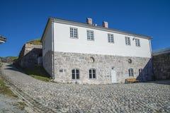 Ravelin building at fredriksten fortress Stock Photo