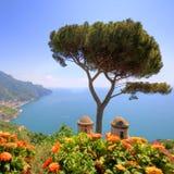ravello Италии свободного полета amalfi стоковое изображение
