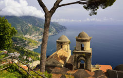 Ravello on Amalfi Coast, Campania - Italy Stock Image
