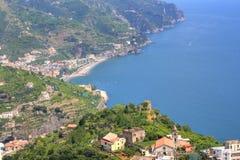 Ravello, Amalfi Coast, Italy. Wonderful view of the Amalfi Coast from Ravello royalty free stock images