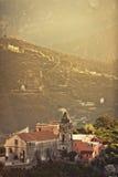 Ravello, Amalfi Coast, Italy. Royalty Free Stock Images