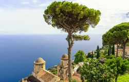 Ravello on Amalfi Coast, Italy Royalty Free Stock Photo