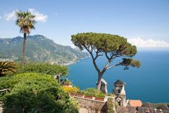 Ravello, Amalfi Coast, Italy Stock Photo