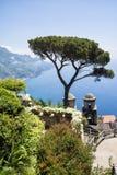 Ravello - Amalfi Coast. Landscape of the Amalfi Coast view from Ravello stock photography